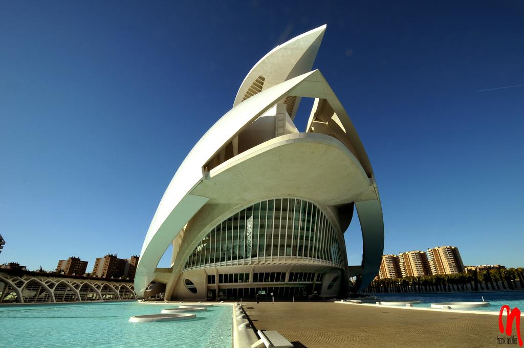palacio artes Palace of the Arts Looks like Space Ship