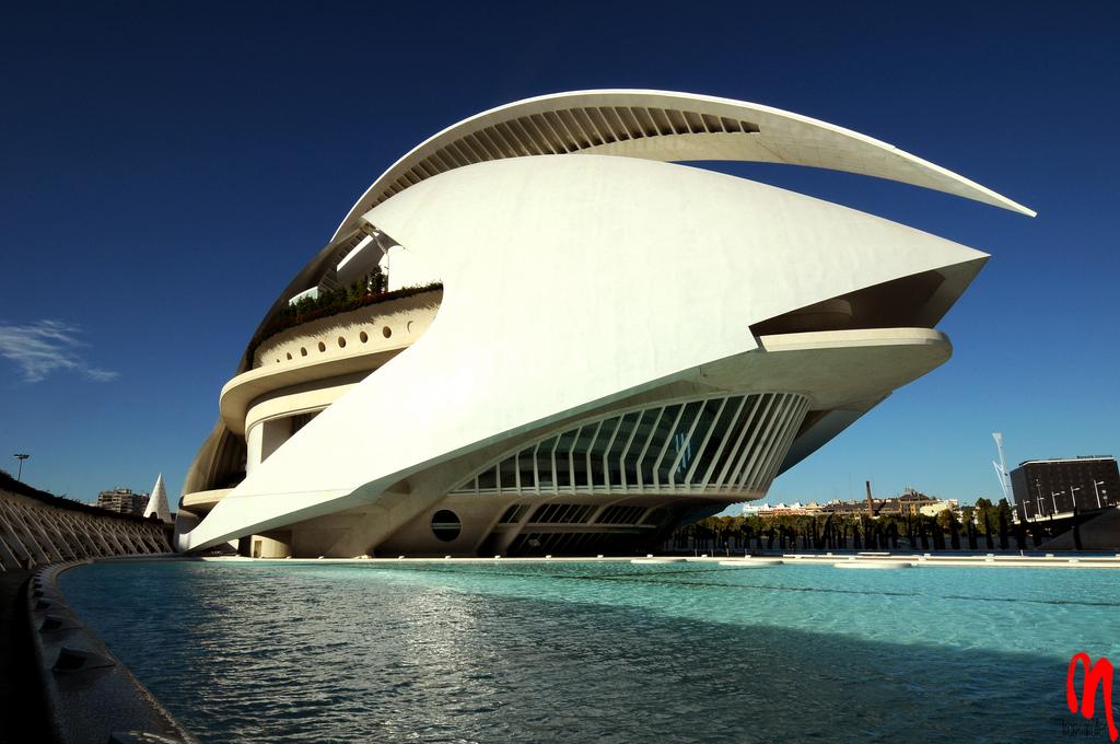 palacio artes1 Palace of the Arts Looks like Space Ship