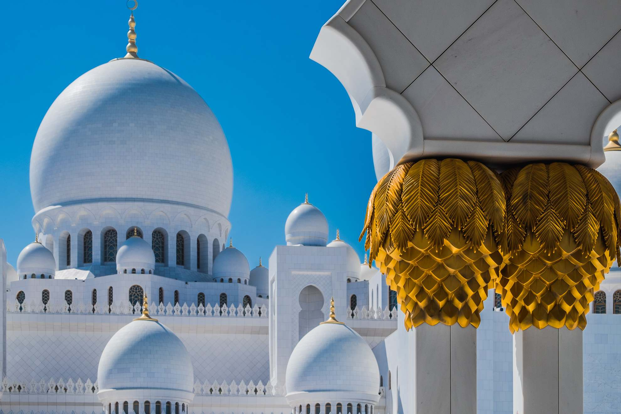 sheikh zayed grand mosque11 Picturesque Sheikh Zayed Grand Mosque in Abu Dhabi