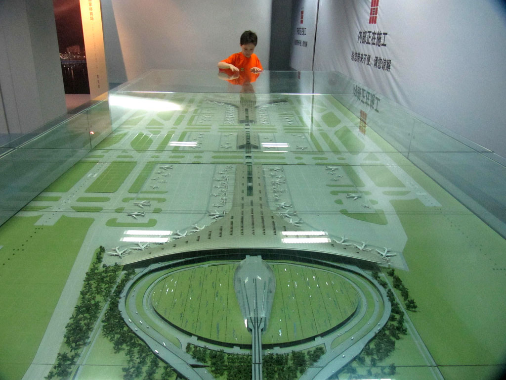 beijing museum4 Really Cool to See Beijings Urban Planning Museum