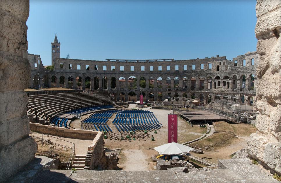 croatia pula13 Roman Arena in Pula, Croatia