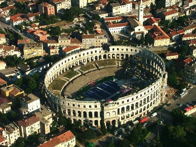 croatia pula19 Roman Arena in Pula, Croatia