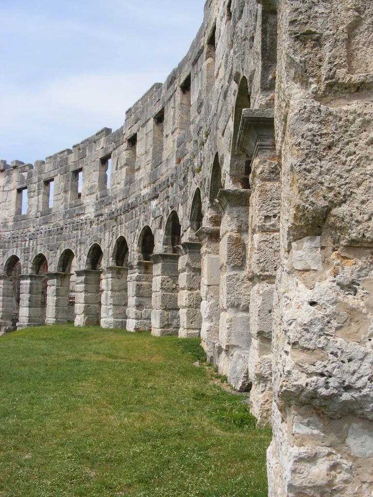 croatia pula7 Roman Arena in Pula, Croatia