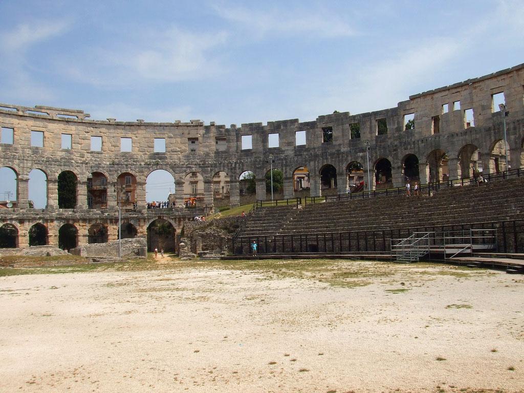 croatia pula8 Roman Arena in Pula, Croatia