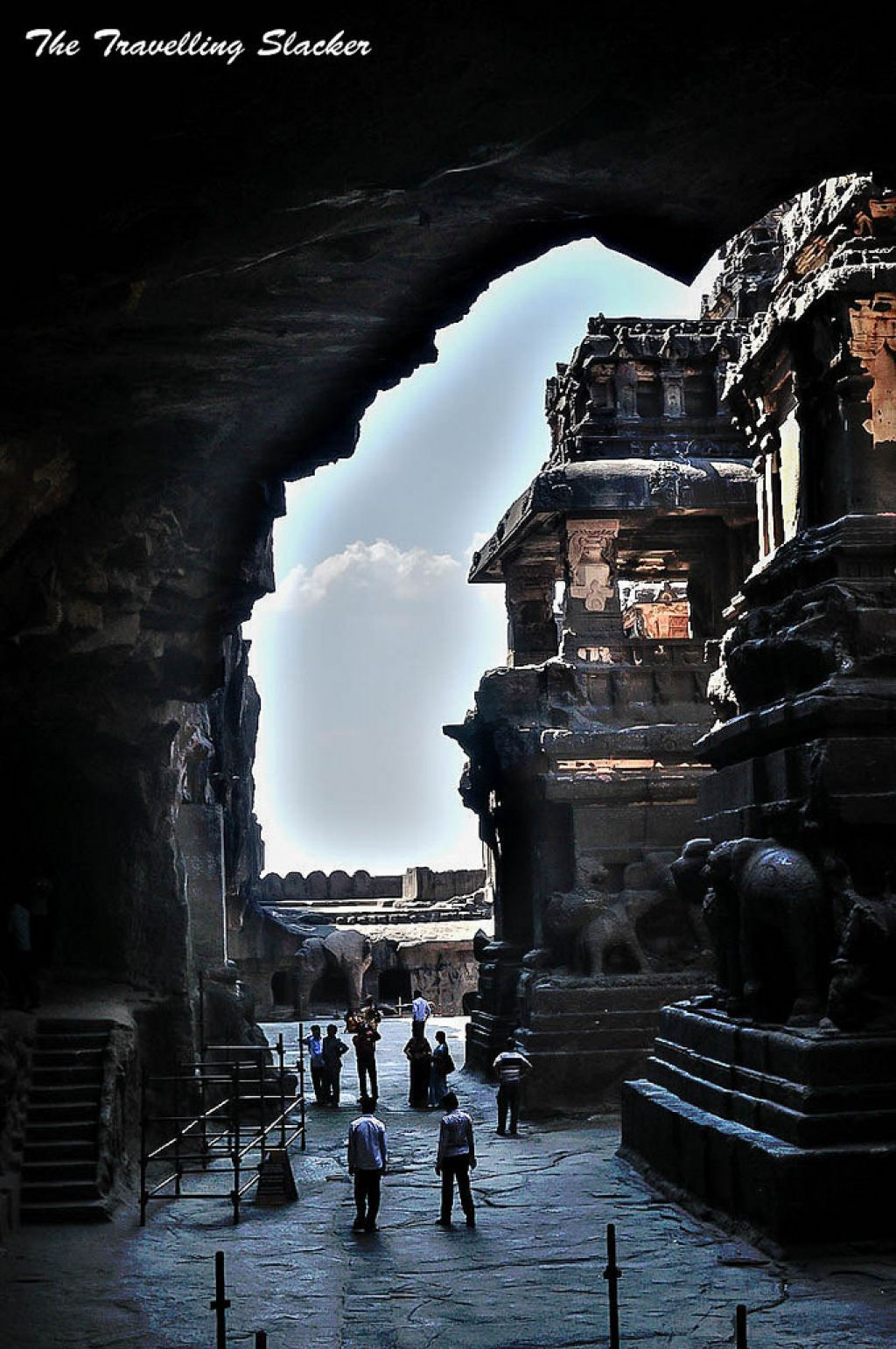 ellora caves Sacred Ellora Caves, India