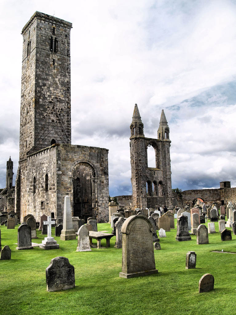 saint andrew scotland Saint Andrews Cathedral Ruins   Place to See in Scotland