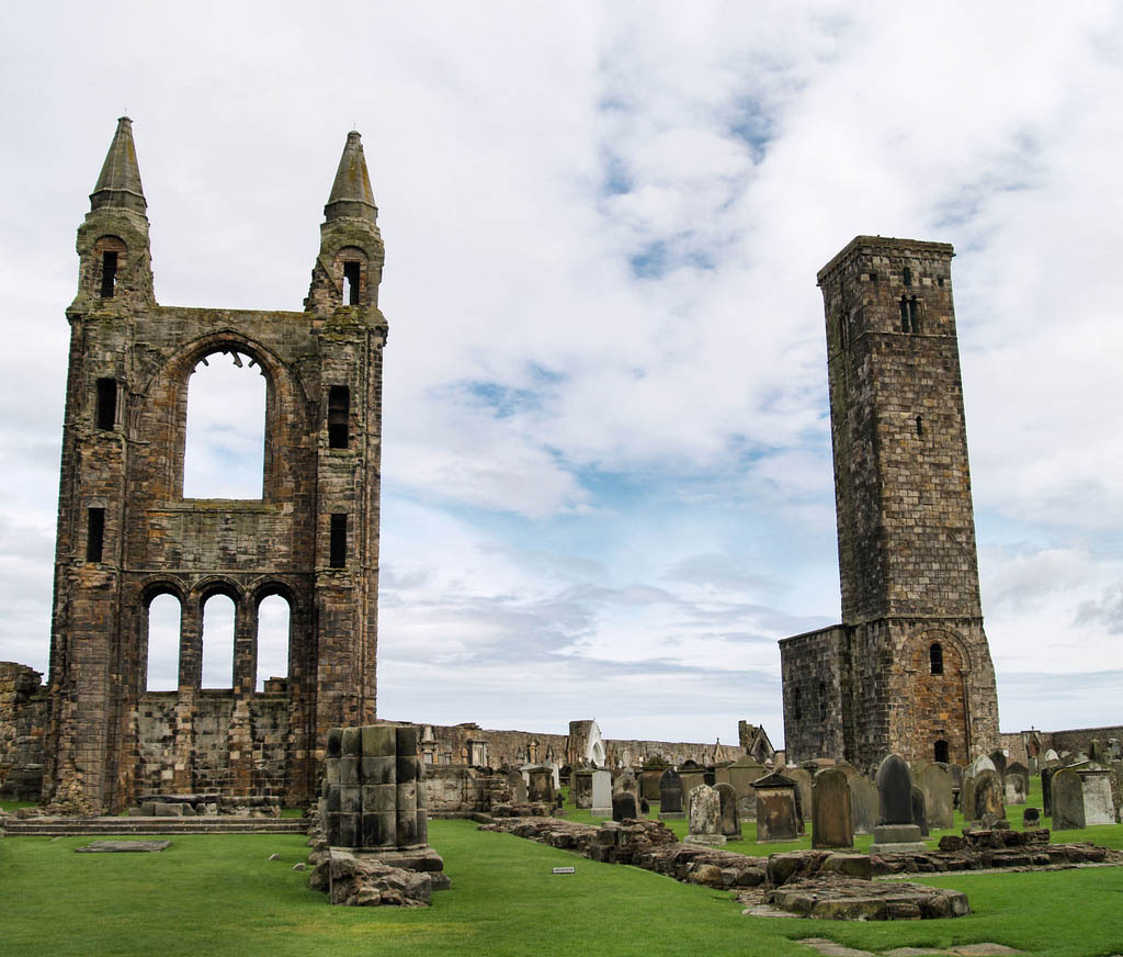 saint andrew scotland1 Saint Andrews Cathedral Ruins   Place to See in Scotland