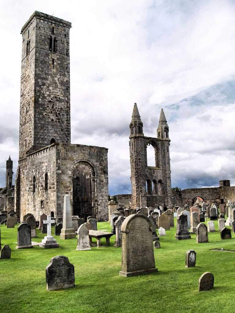 saint andrew scotland2 Saint Andrews Cathedral Ruins   Place to See in Scotland
