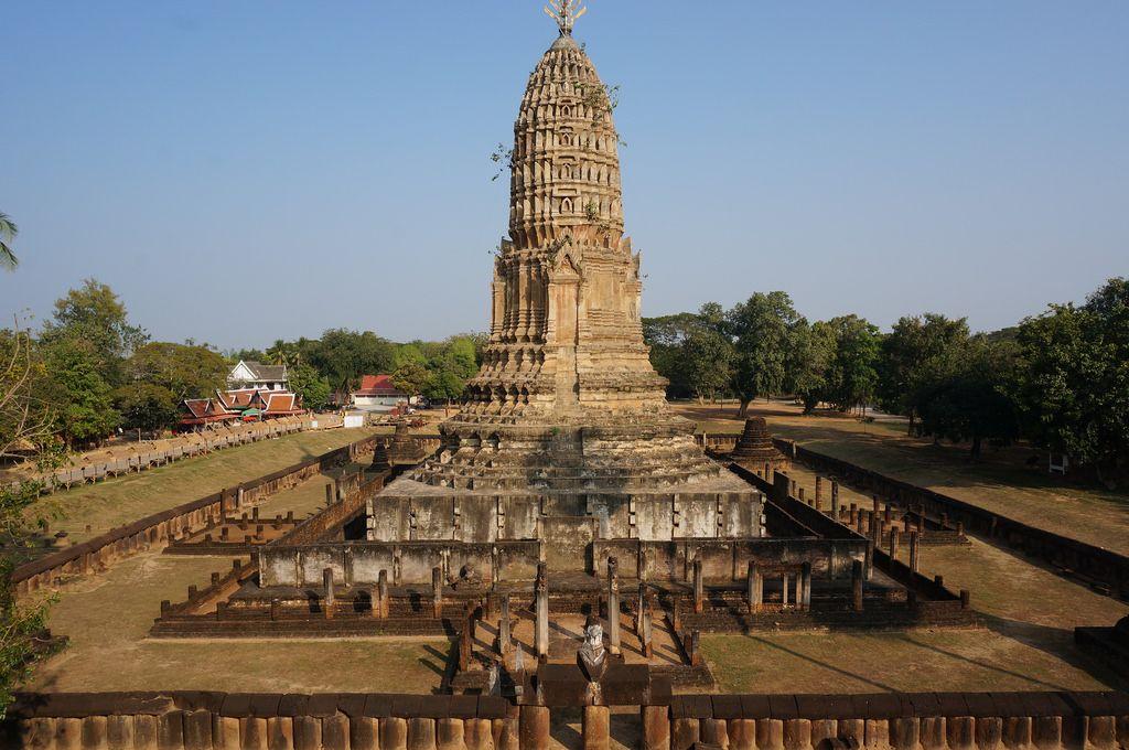 satchanalai Si Satchanalai Historical Park in Thailand