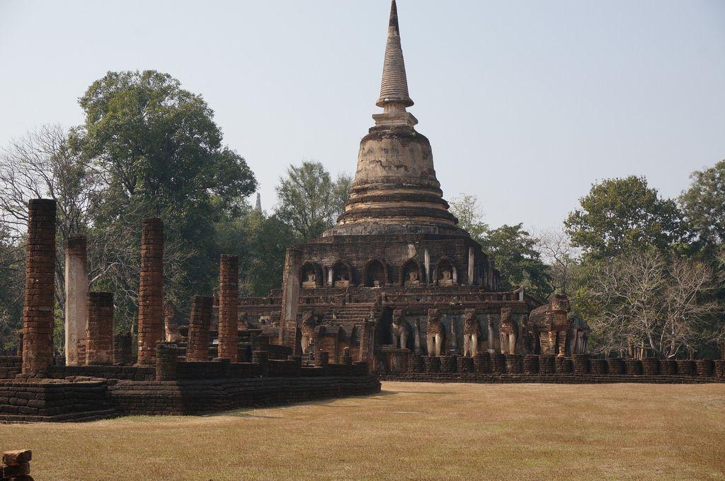 satchanalai1 Si Satchanalai Historical Park in Thailand