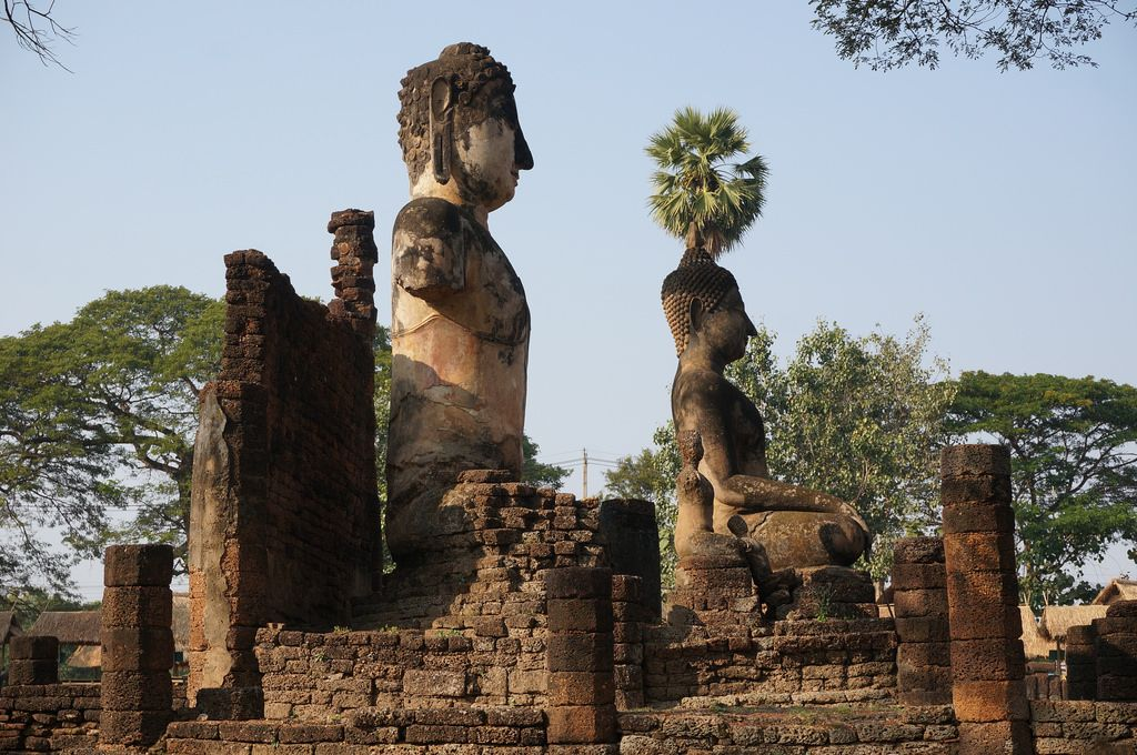 satchanalai10 Si Satchanalai Historical Park in Thailand