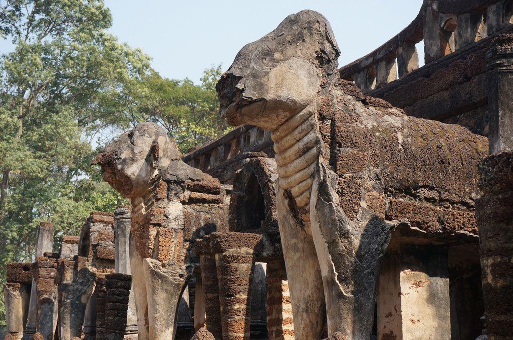 satchanalai11 Si Satchanalai Historical Park in Thailand
