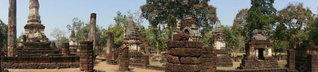 satchanalai13 Si Satchanalai Historical Park in Thailand