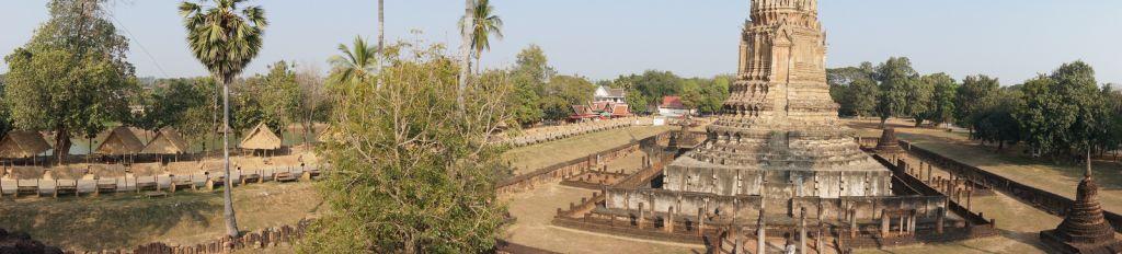 satchanalai14 Si Satchanalai Historical Park in Thailand