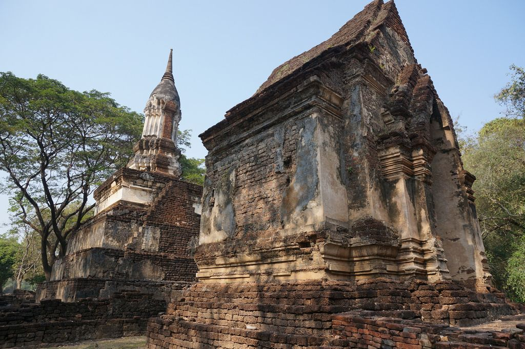 satchanalai3 Si Satchanalai Historical Park in Thailand