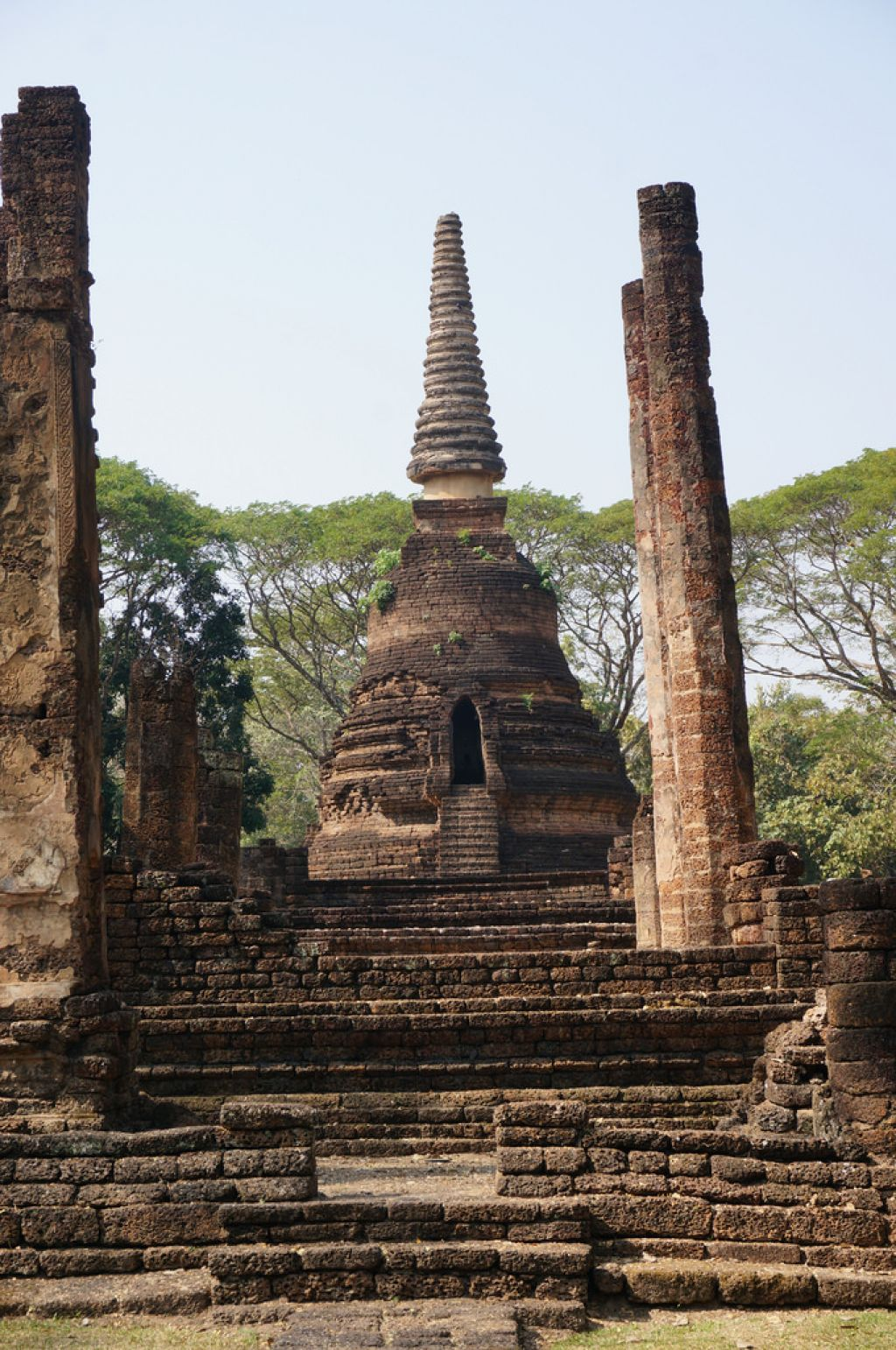 satchanalai4 Si Satchanalai Historical Park in Thailand