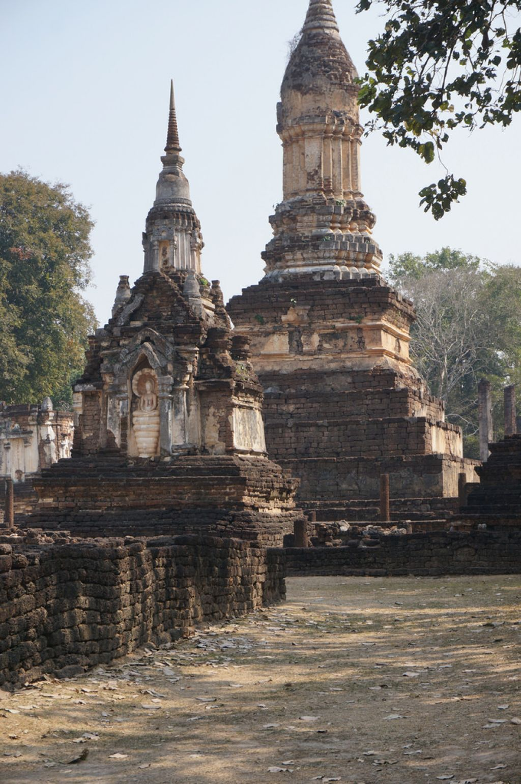 satchanalai6 Si Satchanalai Historical Park in Thailand