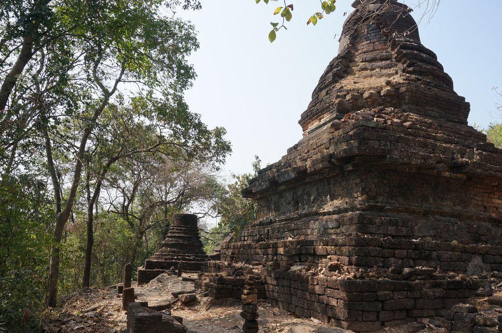 satchanalai7 Si Satchanalai Historical Park in Thailand