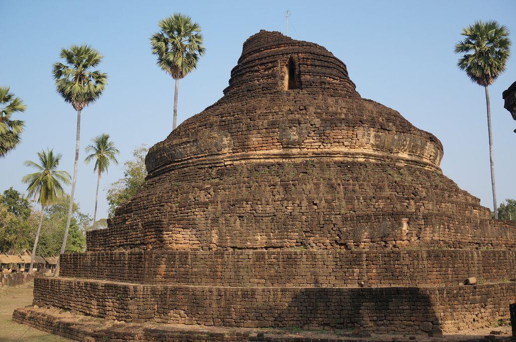 satchanalai9 Si Satchanalai Historical Park in Thailand