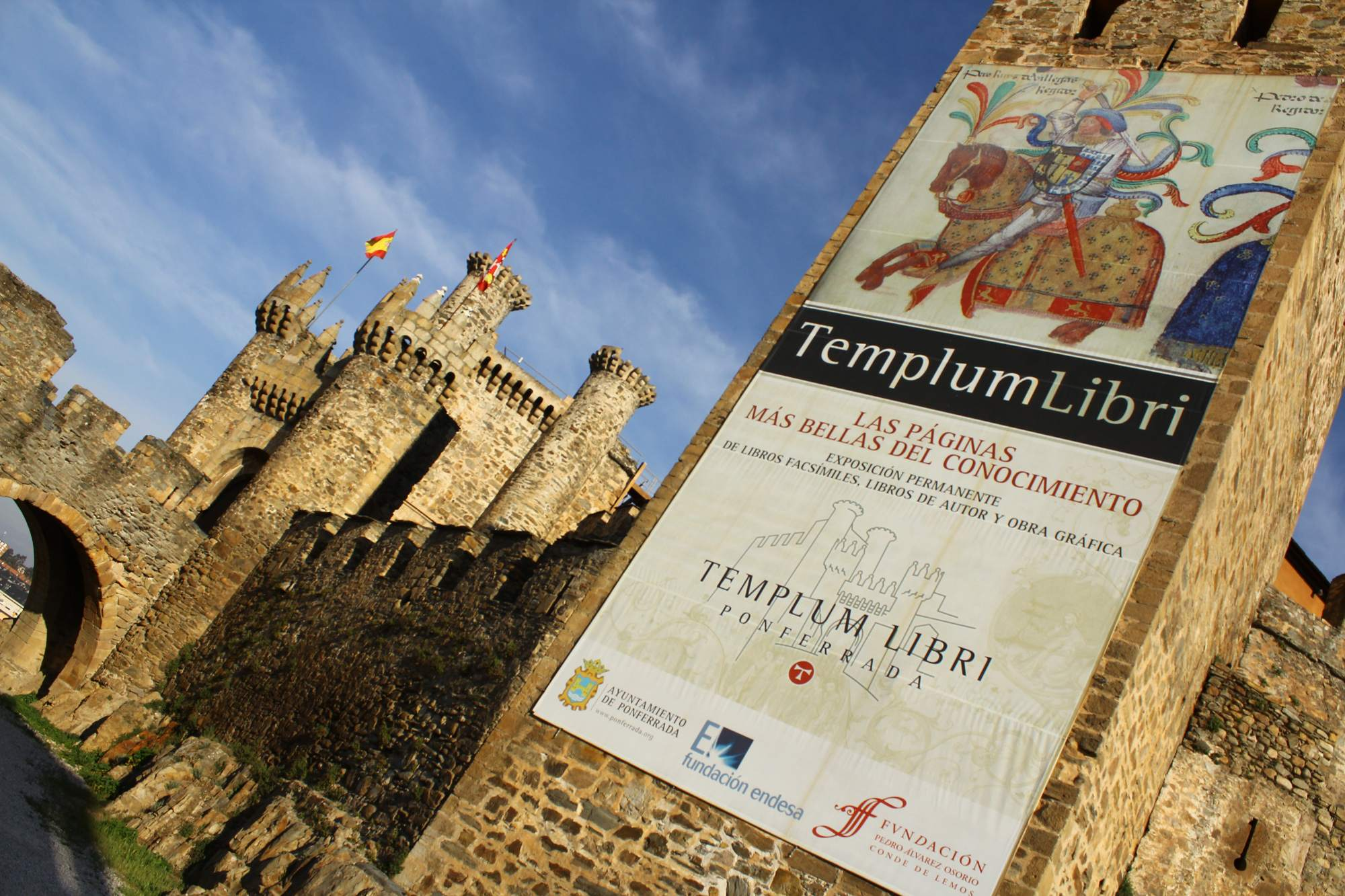 castle ponferrada Templar Castle of Ponferrada, Spain