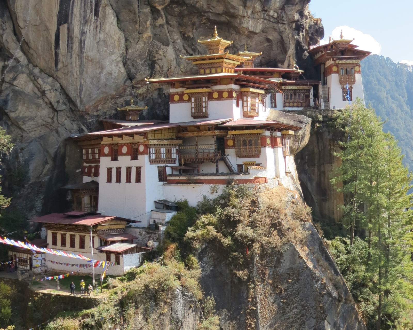 taktsang3 Tigers Nest in Bhutan