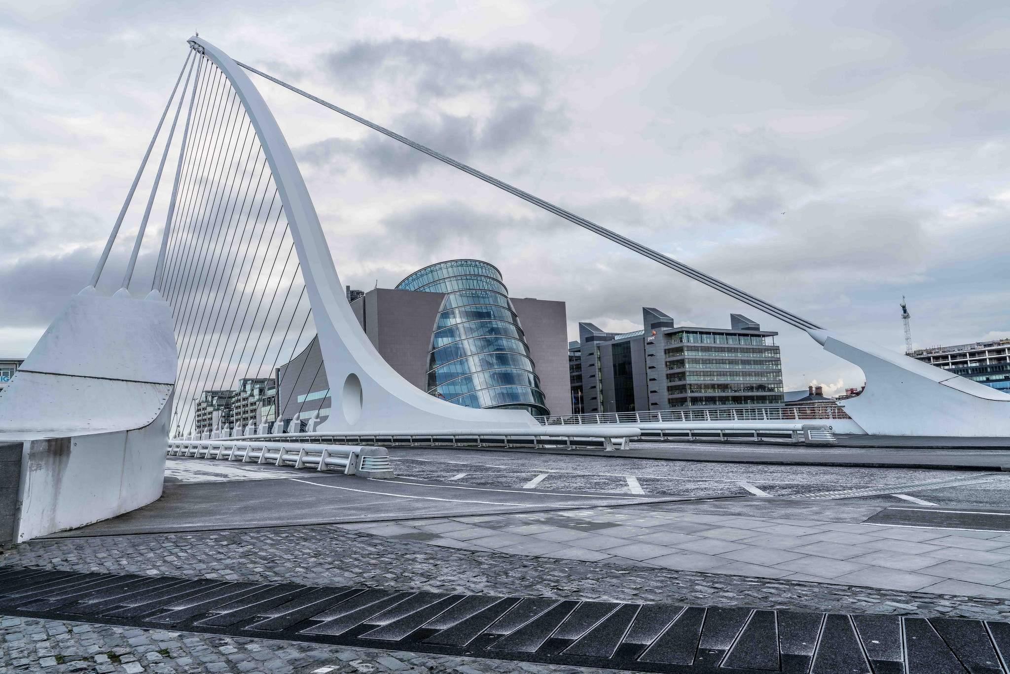 dublin docklands Walking Around Dublin Docklands by Marphy