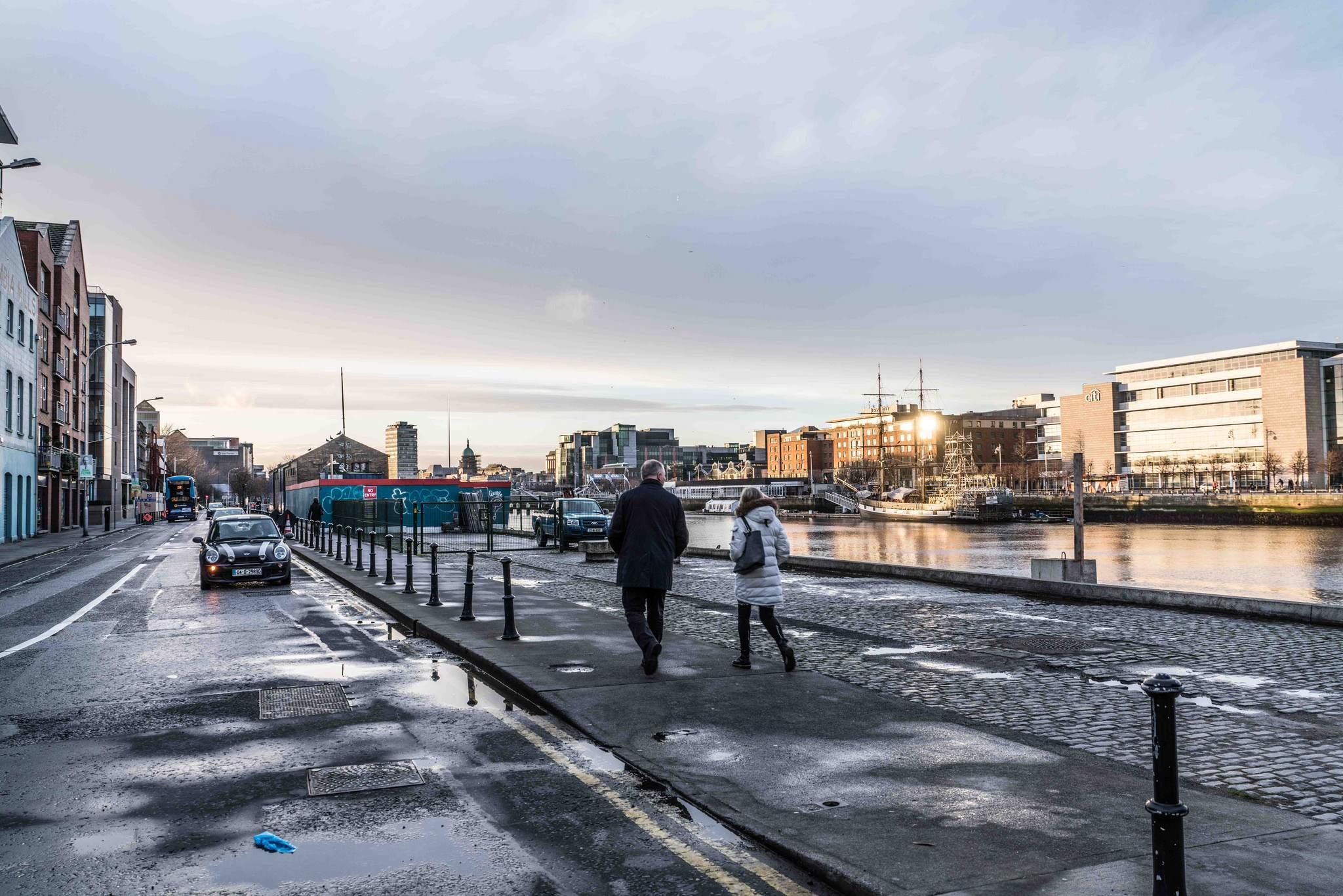 dublin docklands1 Walking Around Dublin Docklands by Marphy