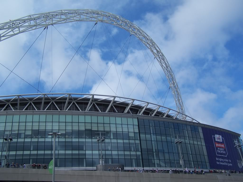 wembley stadium2 Wembley Stadium   Ultimate Place of Football