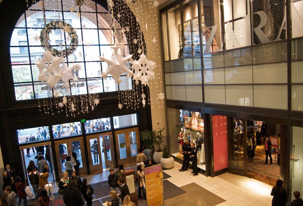 westfield shopping centre7 Westfield Shopping Centre in San Francisco