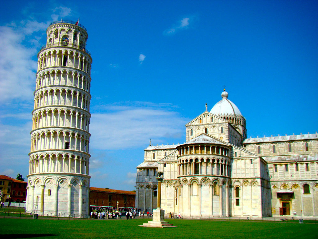 leaning tower pisa13 Why is The Tower of Pisa Leaning