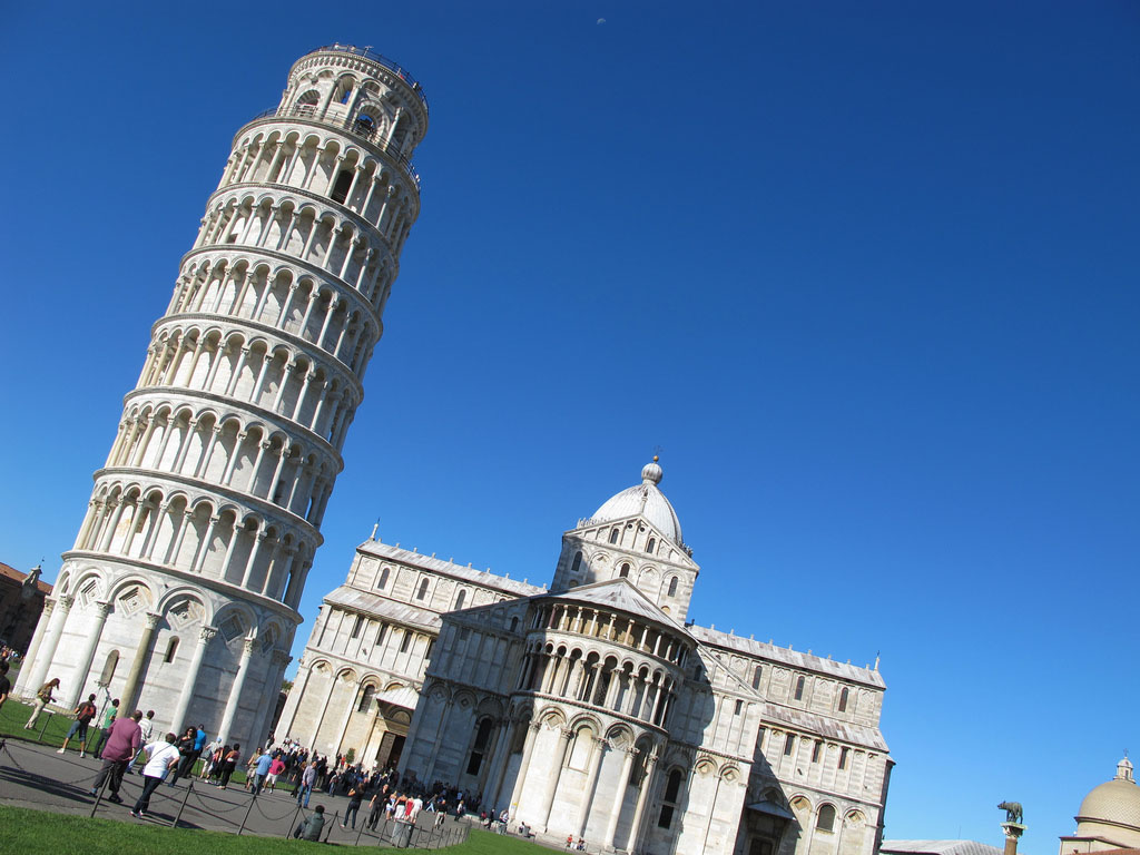leaning tower pisa2 Why is The Tower of Pisa Leaning