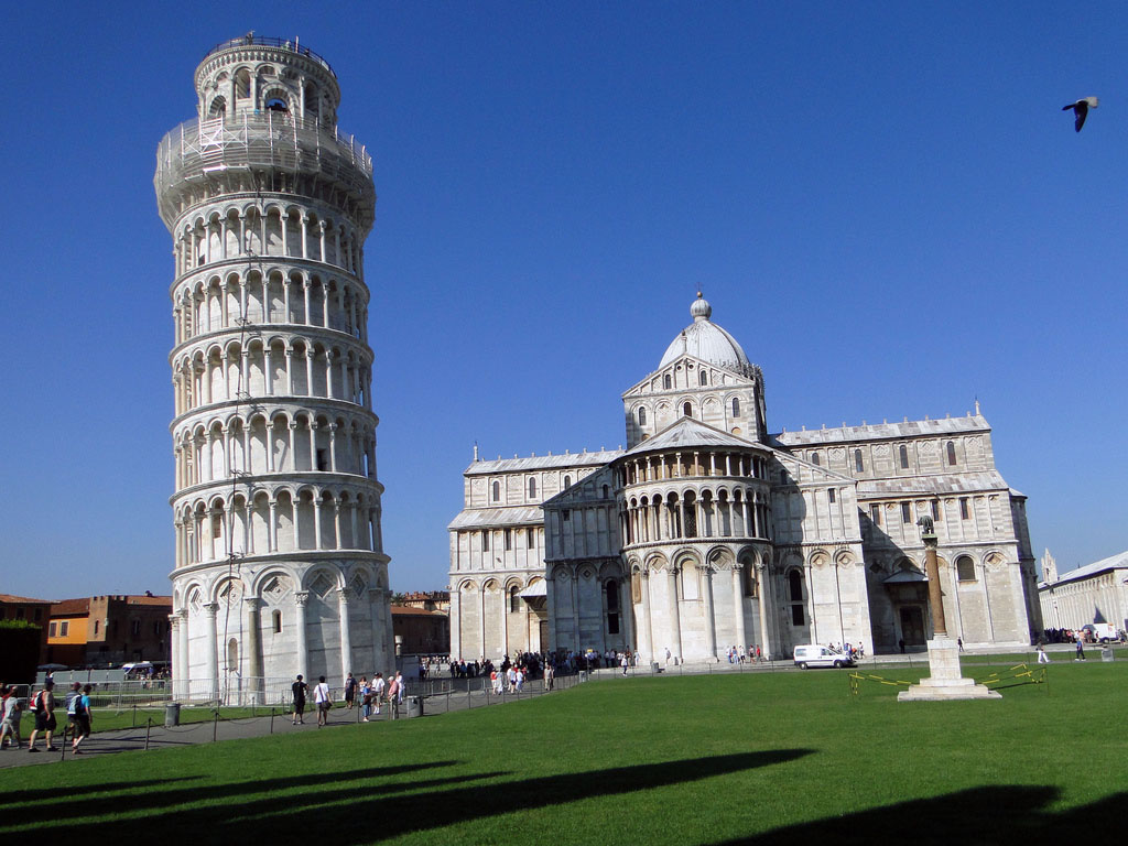 leaning tower pisa5 Why is The Tower of Pisa Leaning
