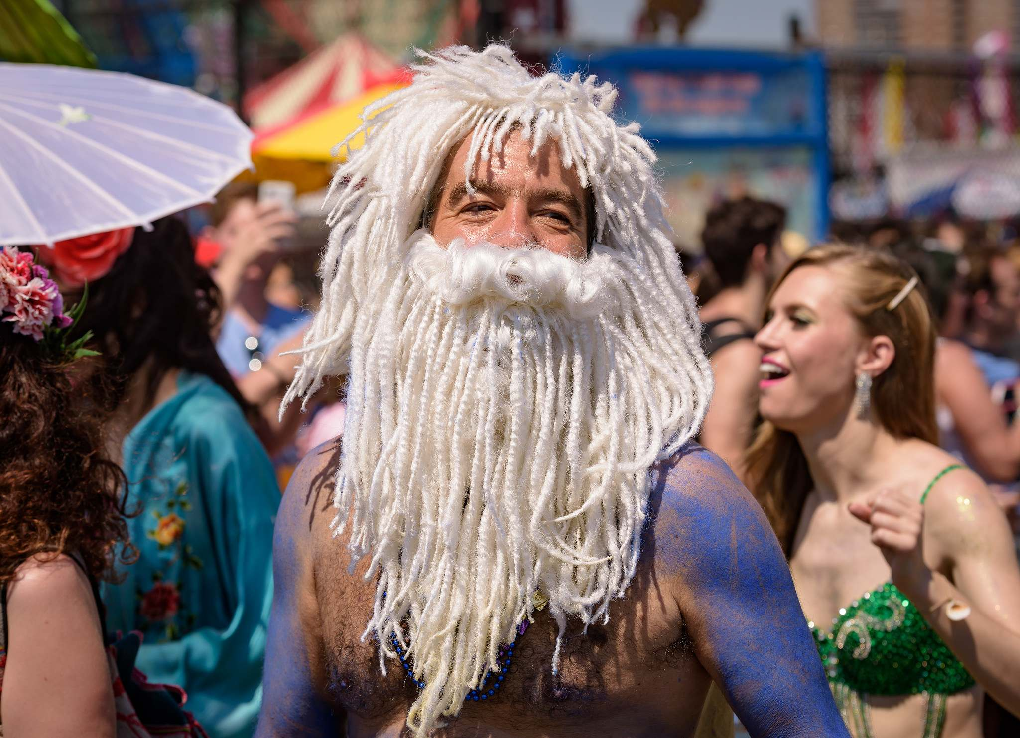 mermaid parade5 2016 Coney Island Mermaid Parade in NYC