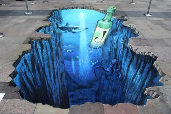street art1 Amazing 3D Street Art Paintings