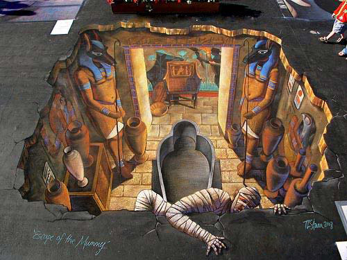 street art11 Amazing 3D Street Art Paintings