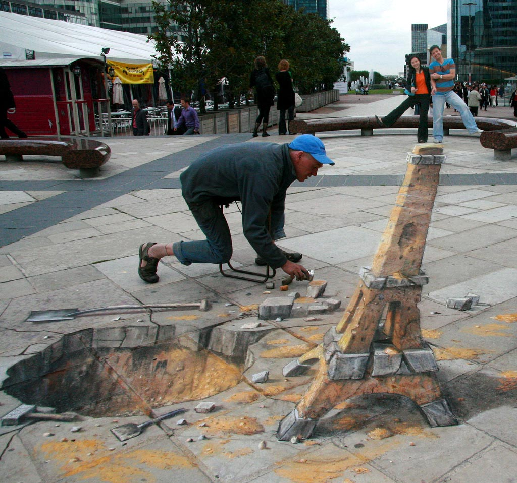 street art14 Amazing 3D Street Art Paintings