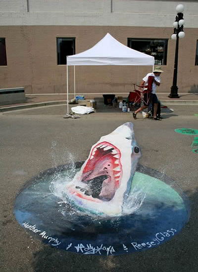 street art5 Amazing 3D Street Art Paintings