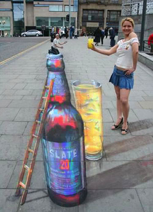 street art8 Amazing 3D Street Art Paintings