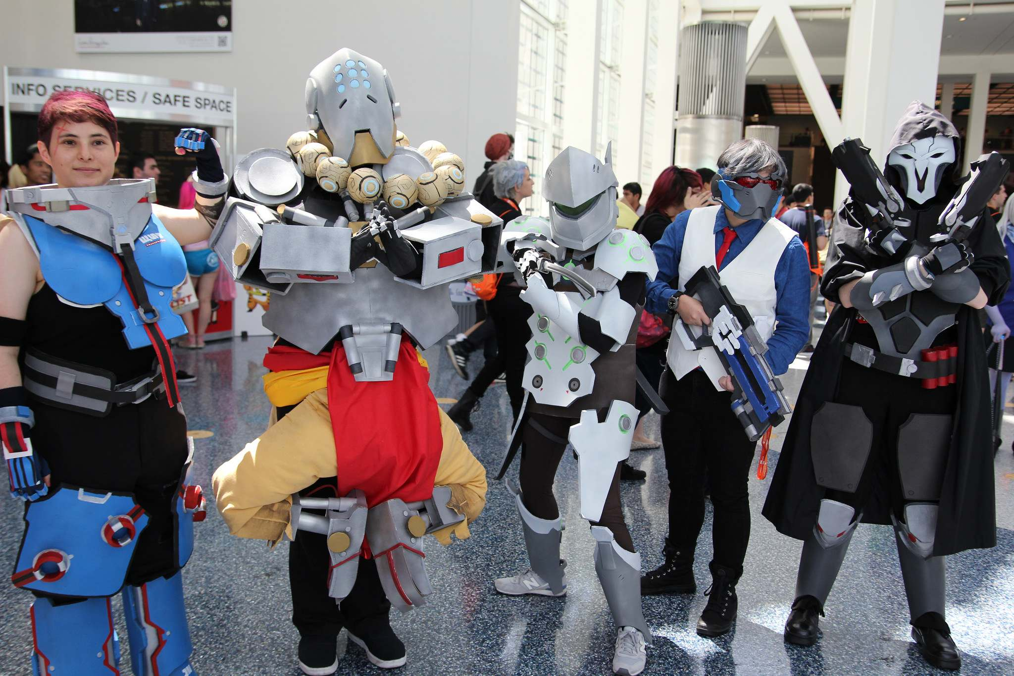 ax201610 Anime Expo 2016 in Los Angeles Convention Center
