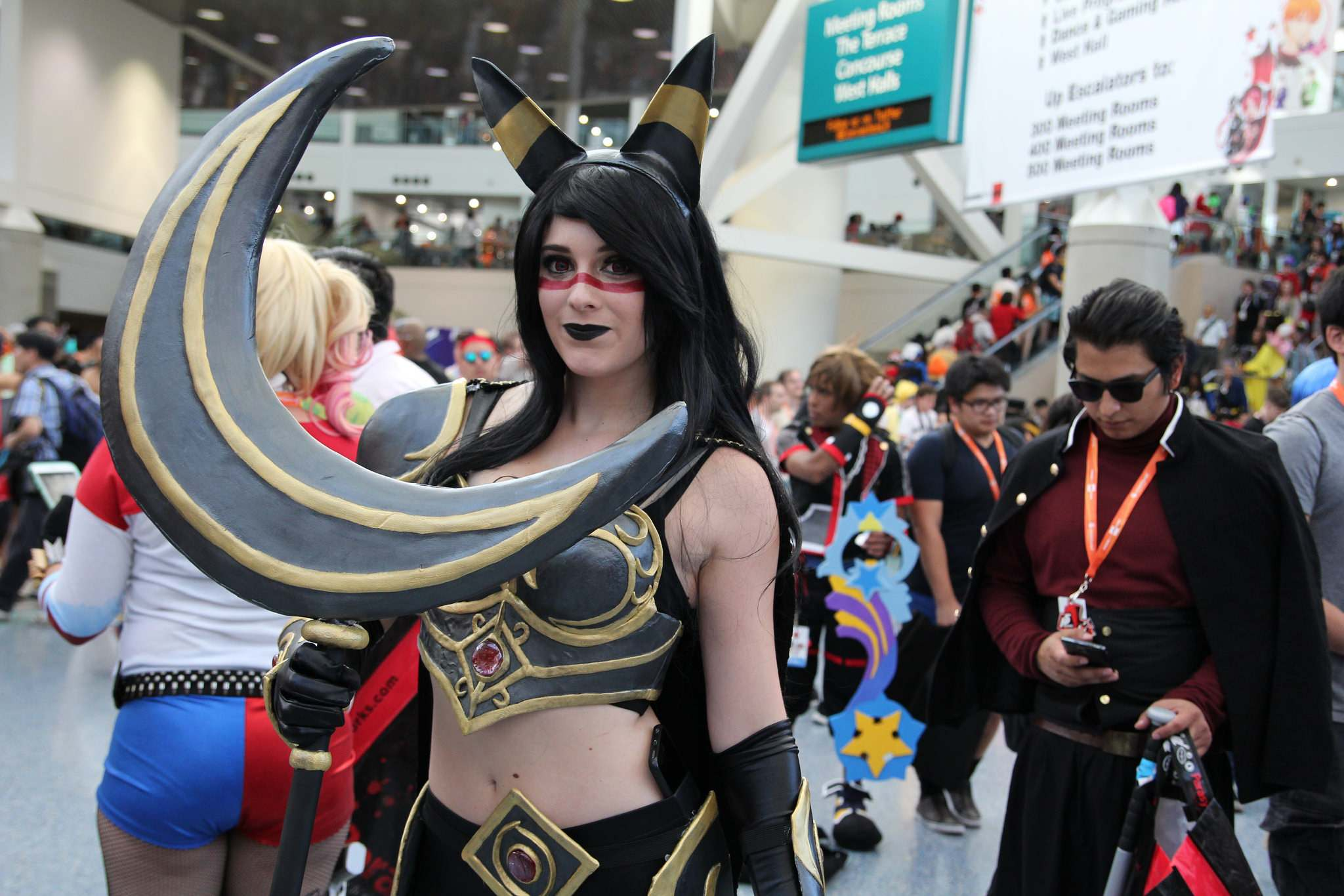 ax201613 Anime Expo 2016 in Los Angeles Convention Center
