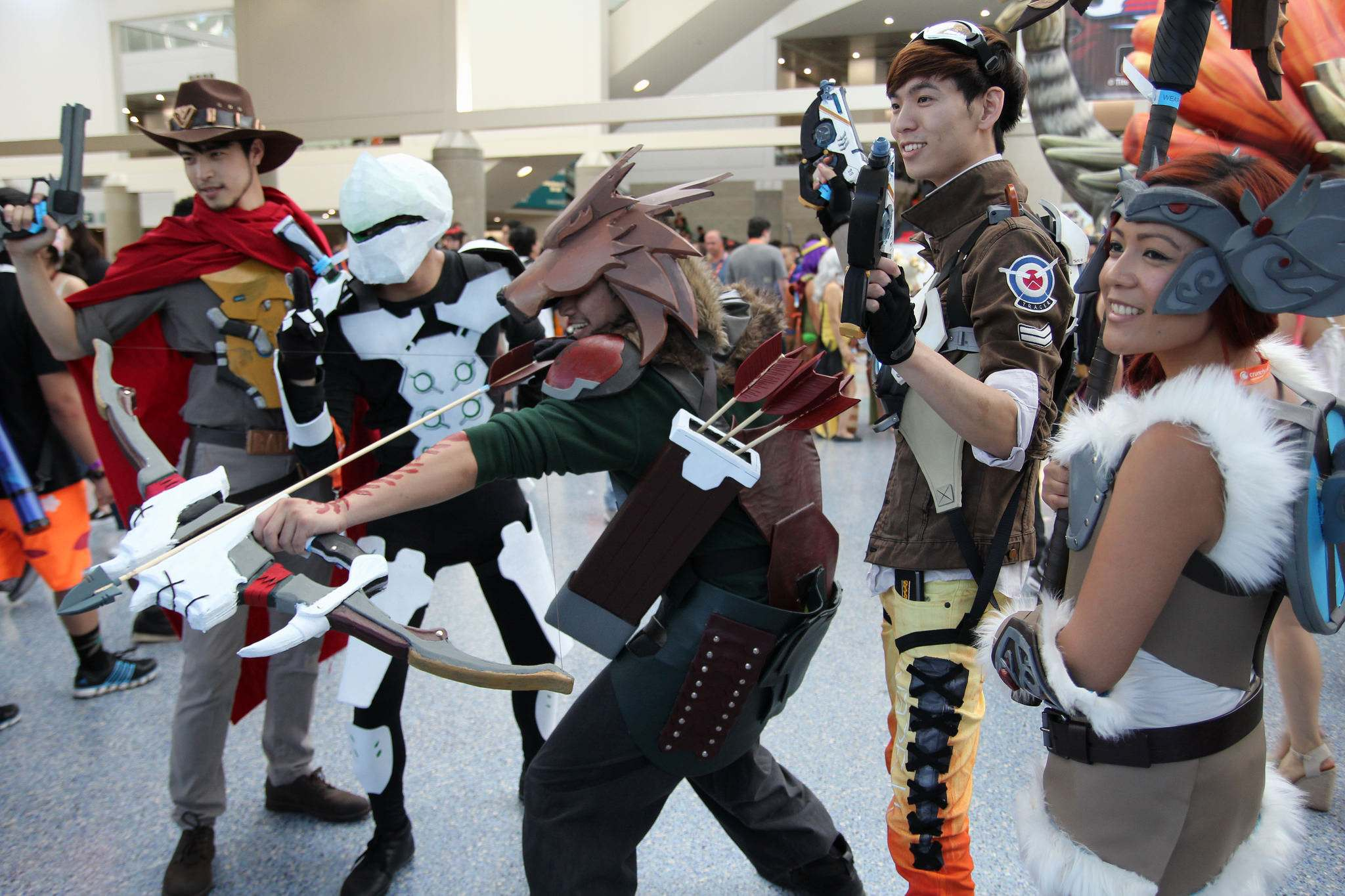 ax201616 Anime Expo 2016 in Los Angeles Convention Center