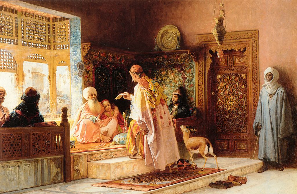 bridgman1 Artwork by Frederick Arthur Bridgman
