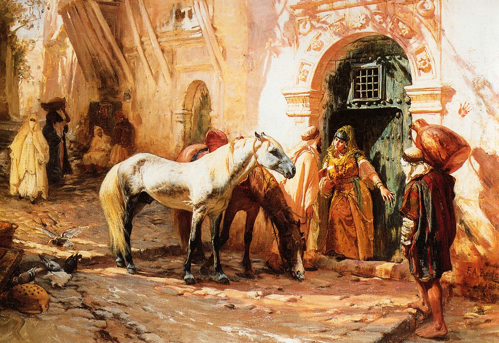 bridgman3 Artwork by Frederick Arthur Bridgman