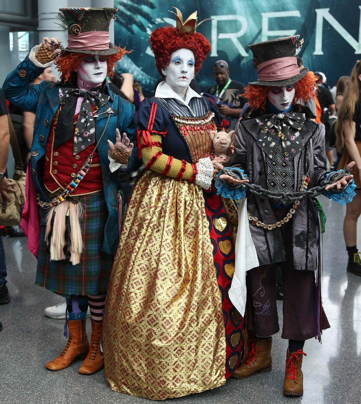 nycc12 Best Costumes from Comic Con in New York 2017