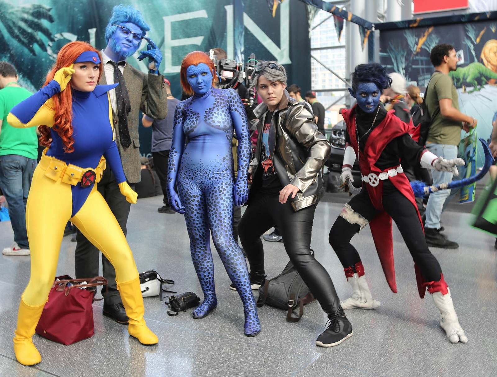 nycc13 Best Costumes from Comic Con in New York 2017