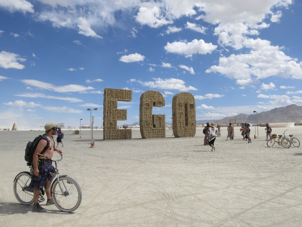 burning man Burning Man Festival in Nevada Desert