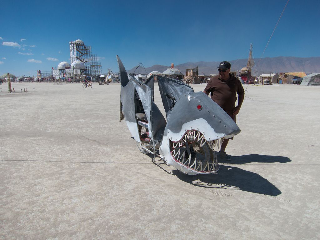 burning man8 Burning Man Festival in Nevada Desert