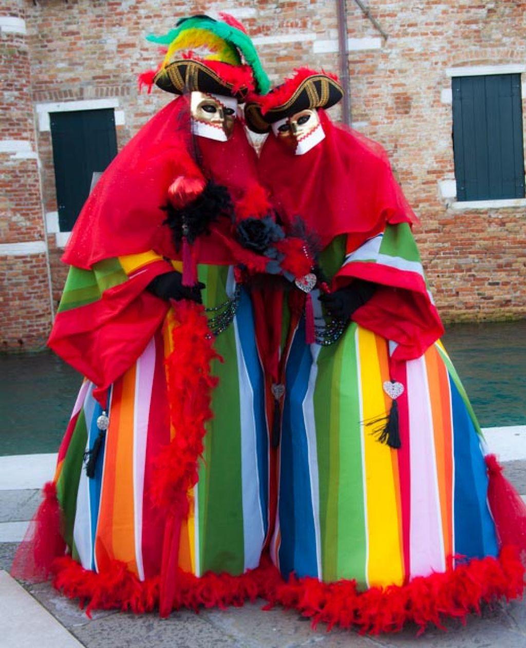venice carnival13 Carnival Costumes at Santa Maria della Salute