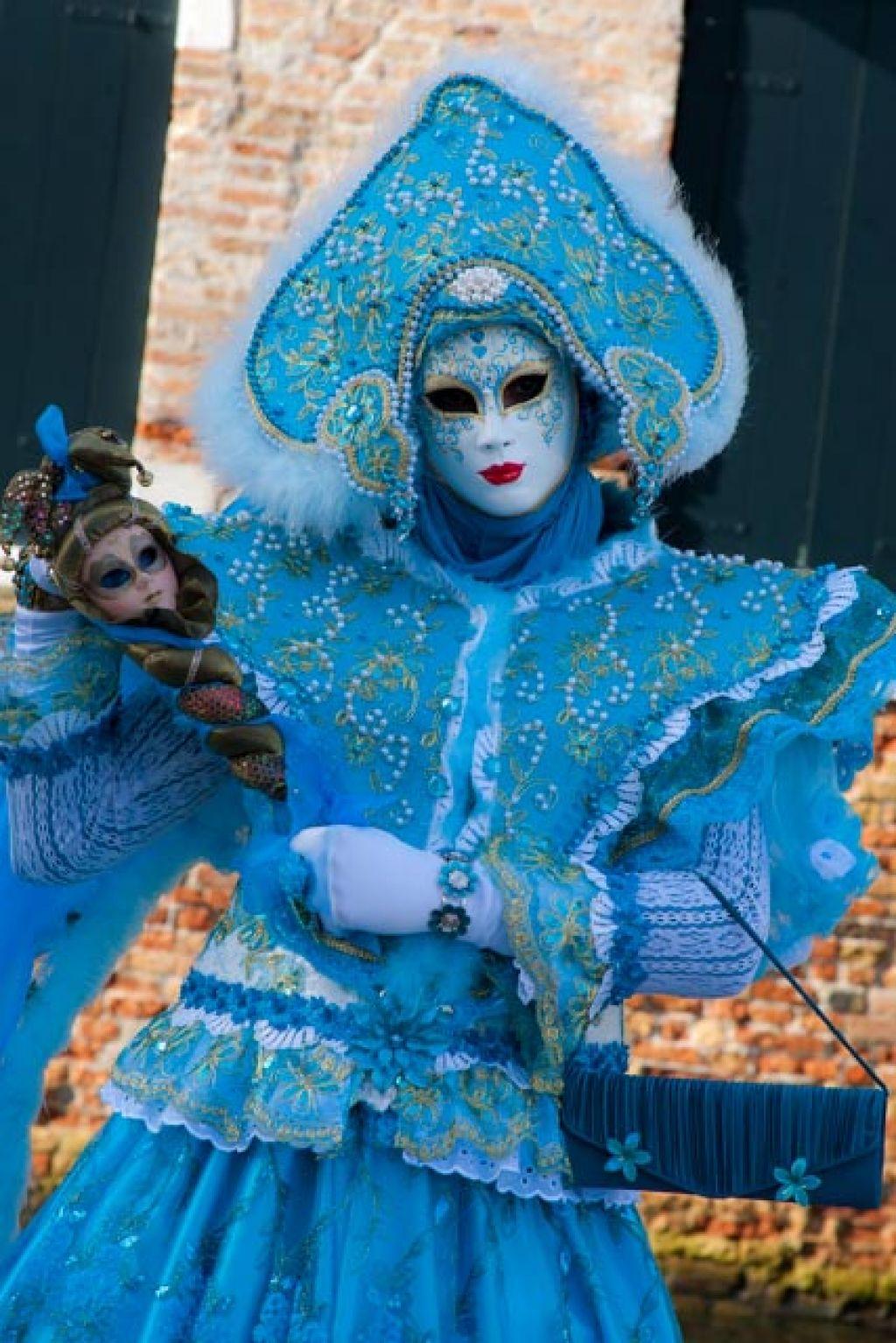 venice carnival8 Carnival Costumes at Santa Maria della Salute