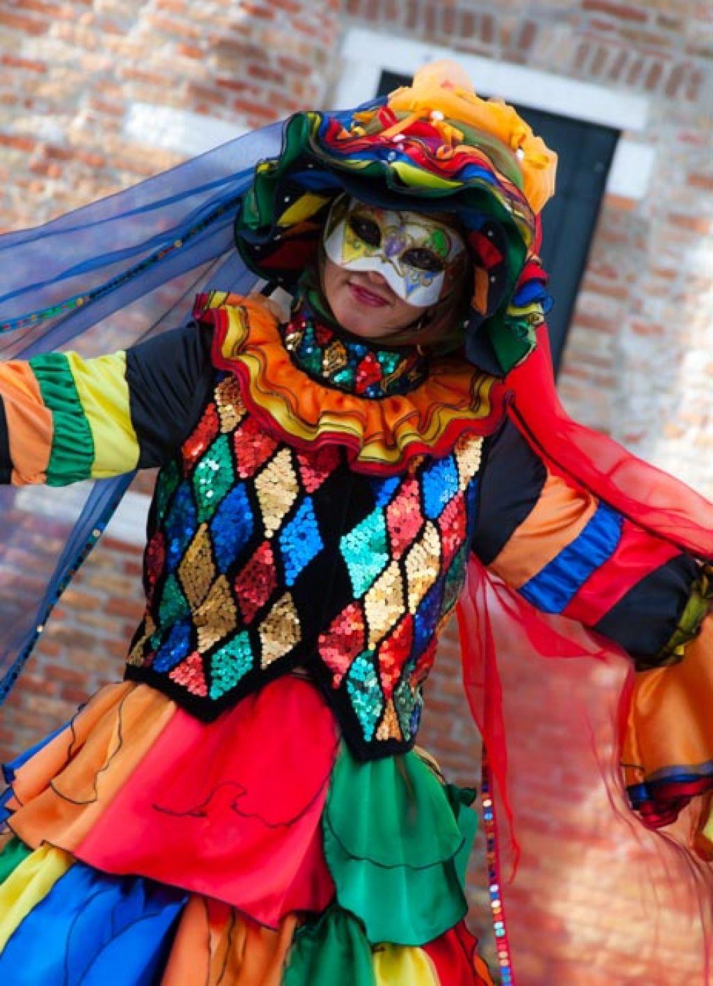 venice carnival9 Carnival Costumes at Santa Maria della Salute